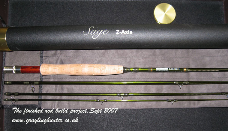 Fly rods for sale sage xp s z axis and bruce and walker for Fly fishing rods for sale