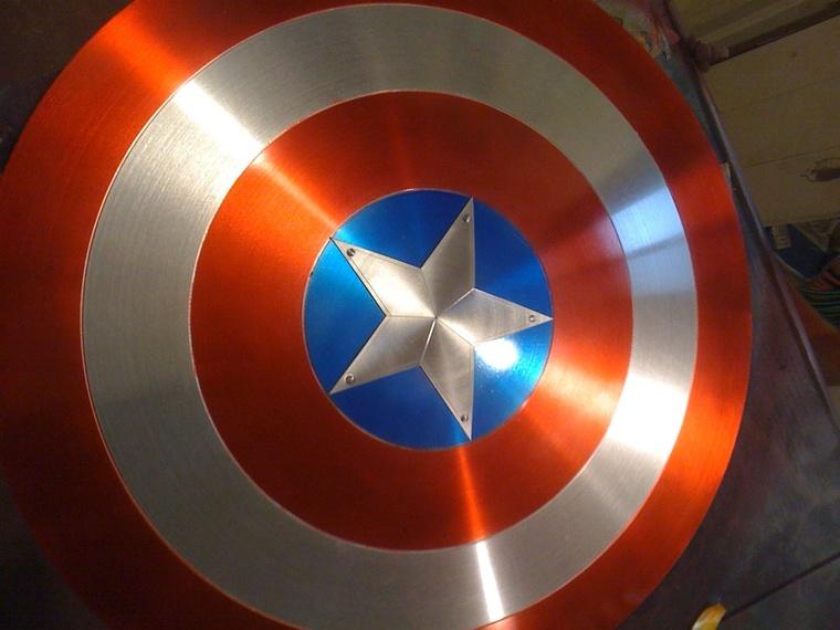 Captain America Shield Star Dimension