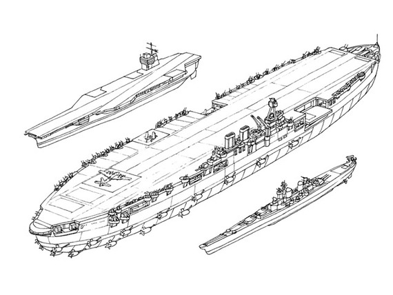 HMS Habakkuk - Iceberg Aircraft Carrier (Cancelled Project